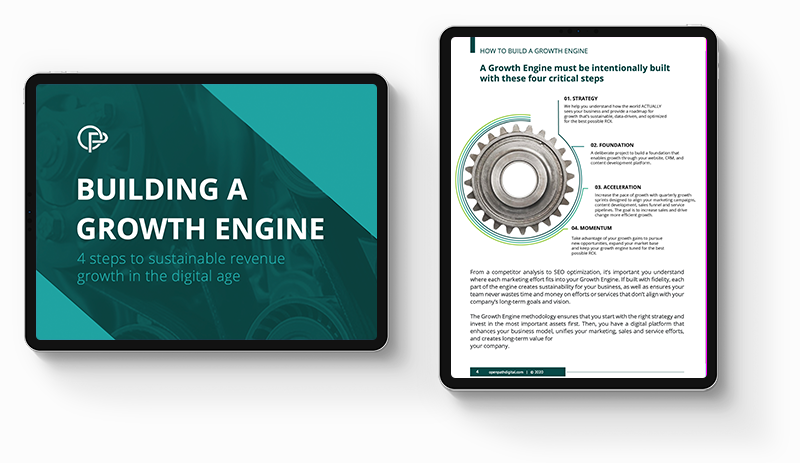 Growth Engine ipads mockup