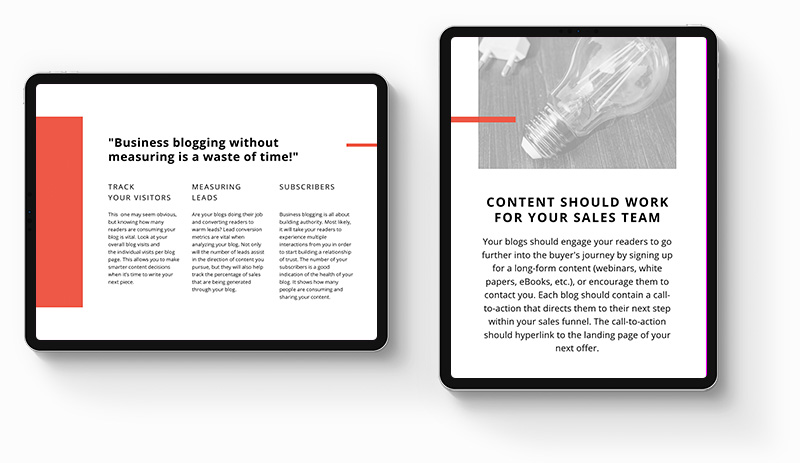 How-to-start-a-blog-for-your-business-double-ipads