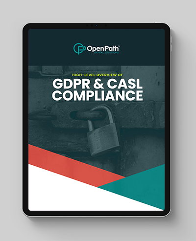 GDPR eBook ipad