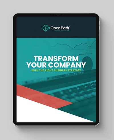 Transform Your Company with the Right Business Strategy ipad